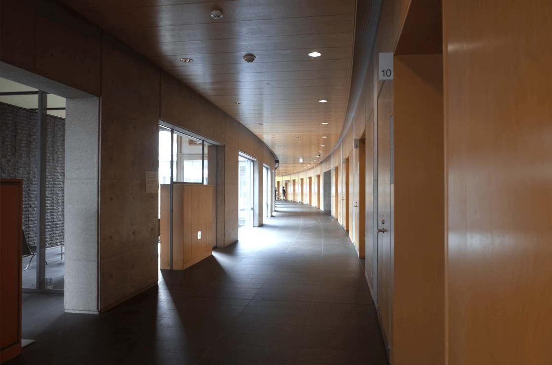 会食室廊下