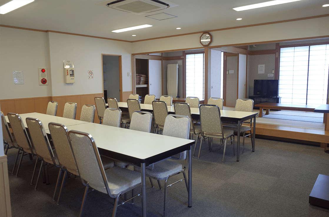 会食室、和室