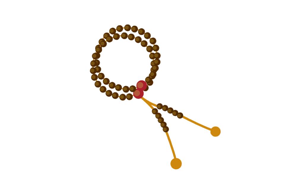 浄土宗の葬儀で必要な数珠