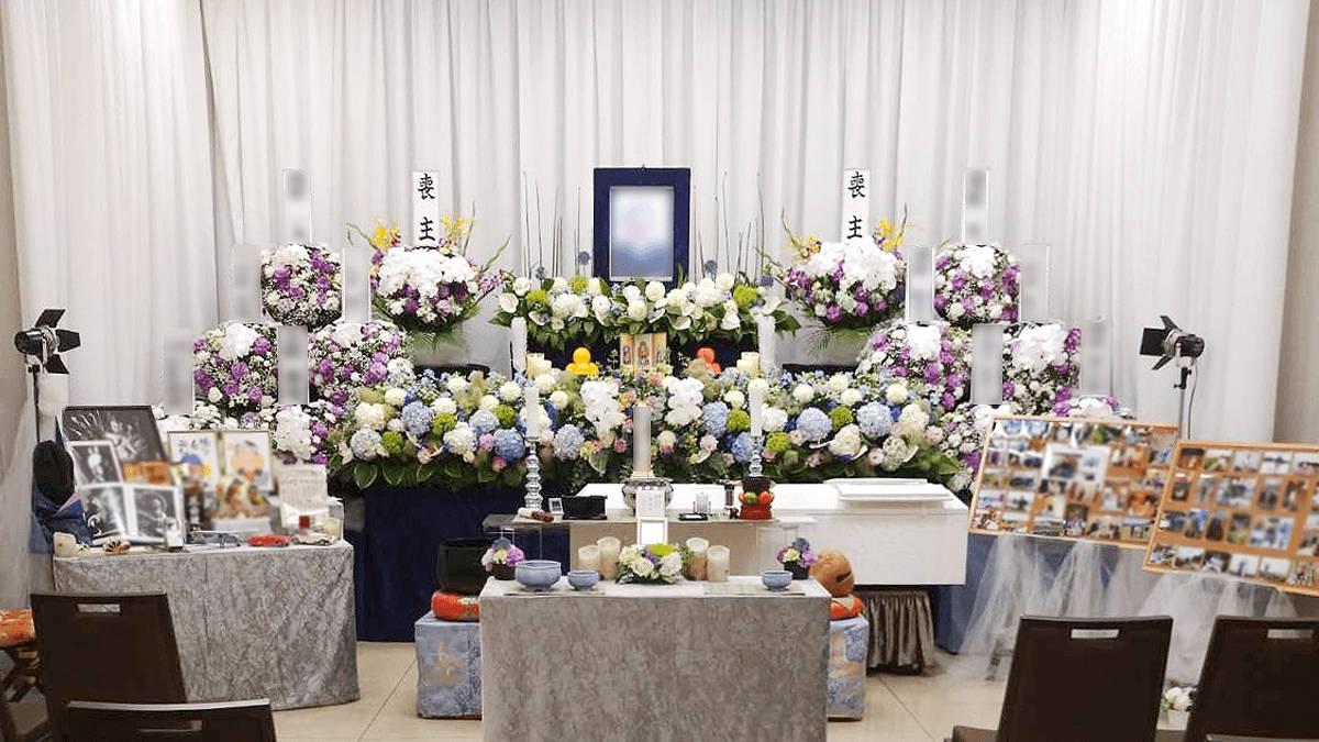 家族葬 季節の飾りつけプラン