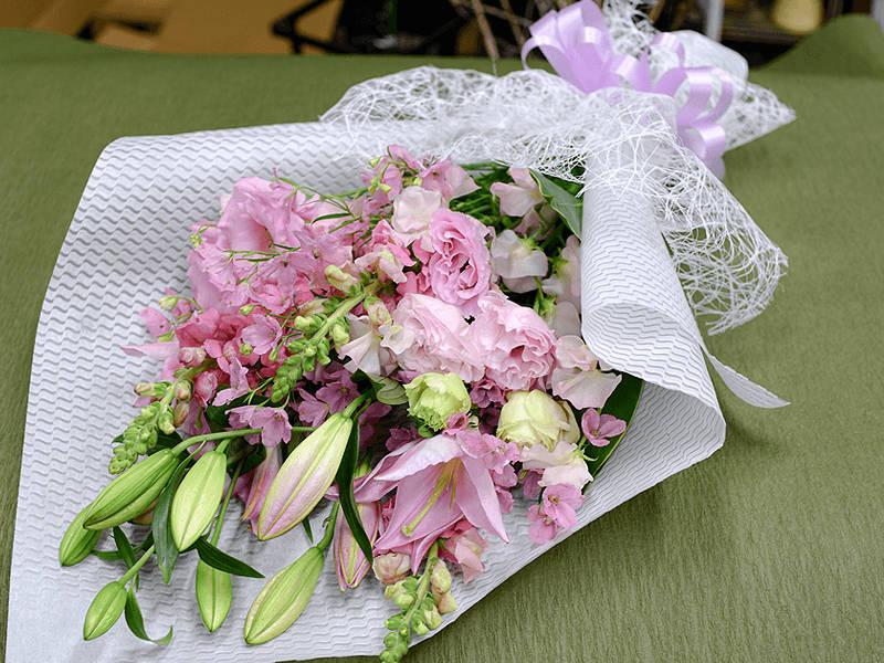 最期に手向ける花束